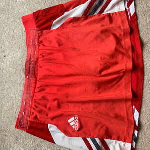 Red Medium Adidas Tennis/Golf Skirt